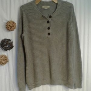 Natural Reflections Womens Thick Knit Sweater